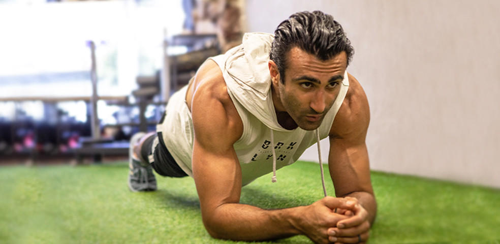 At Home Full Body Workout with Liron Kayvan
