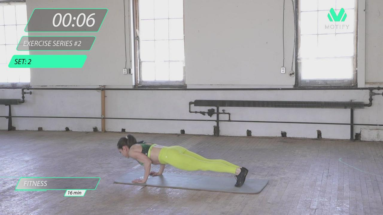 BODYWEIGHT HIIT WORKOUT #1