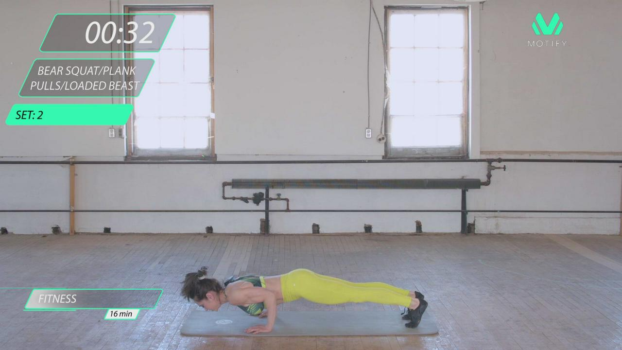 BODYWEIGHT HIIT WORKOUT #3