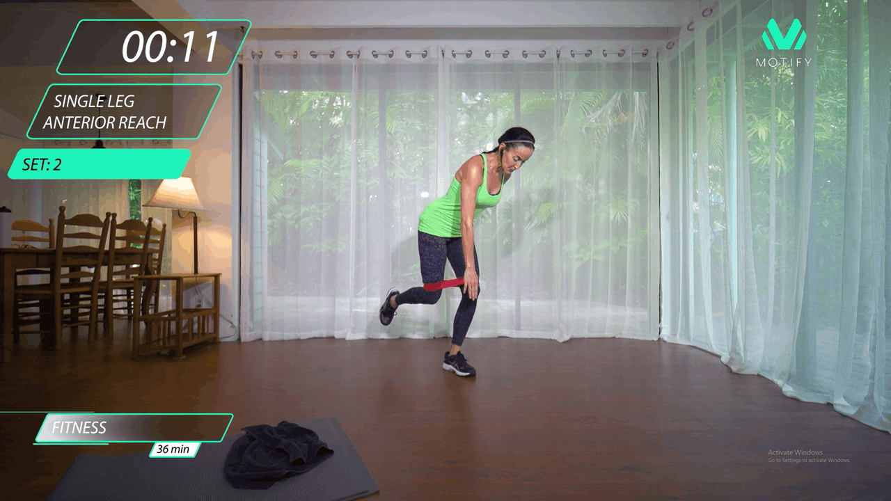 Tabata for Glutes Using Resistance Bands