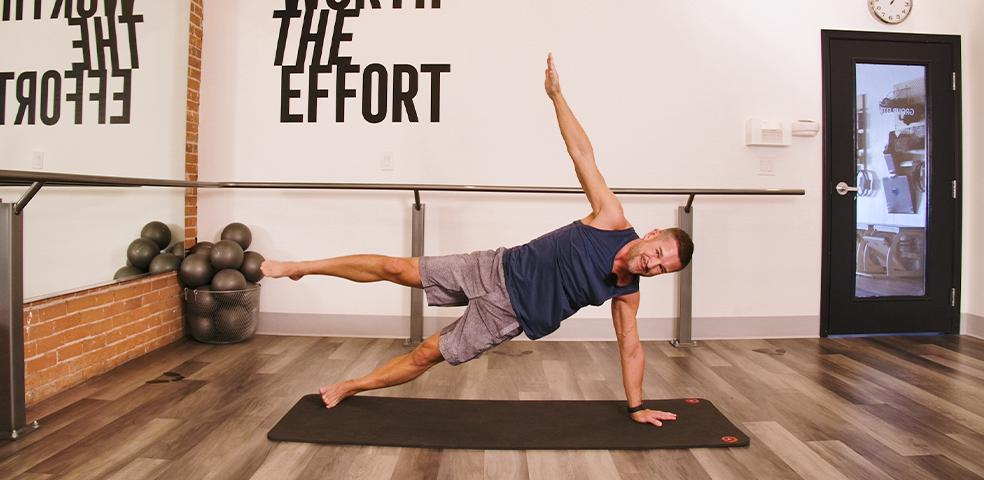 Mat Pilates and Stretching with Steve Mazich