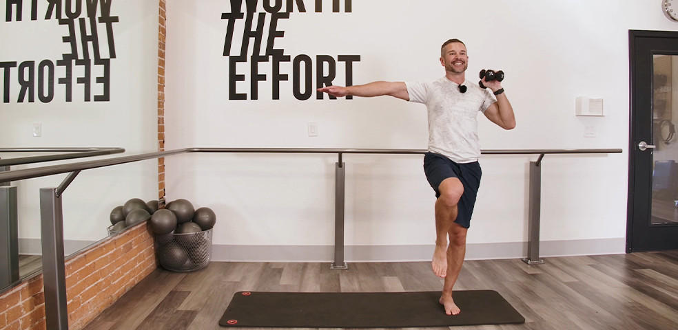 20-Minute Full-Body Workout with Steve Mazich