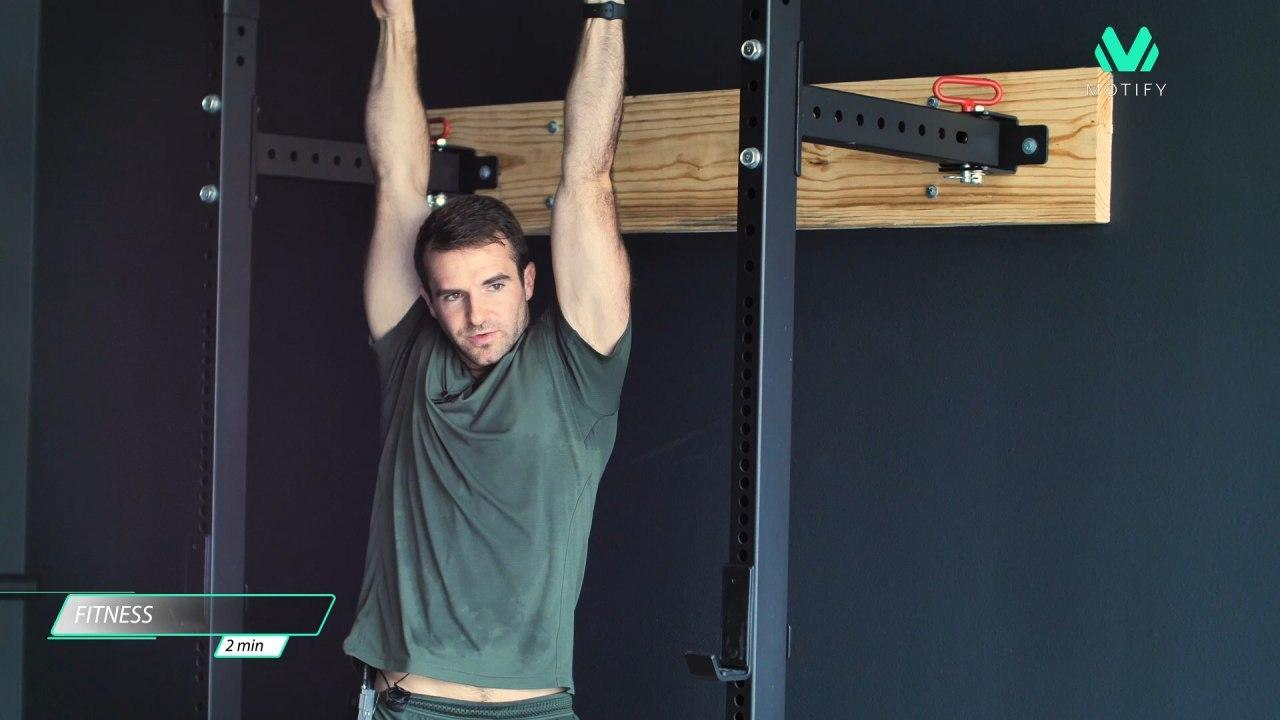 Close Grip pull-ups exercise