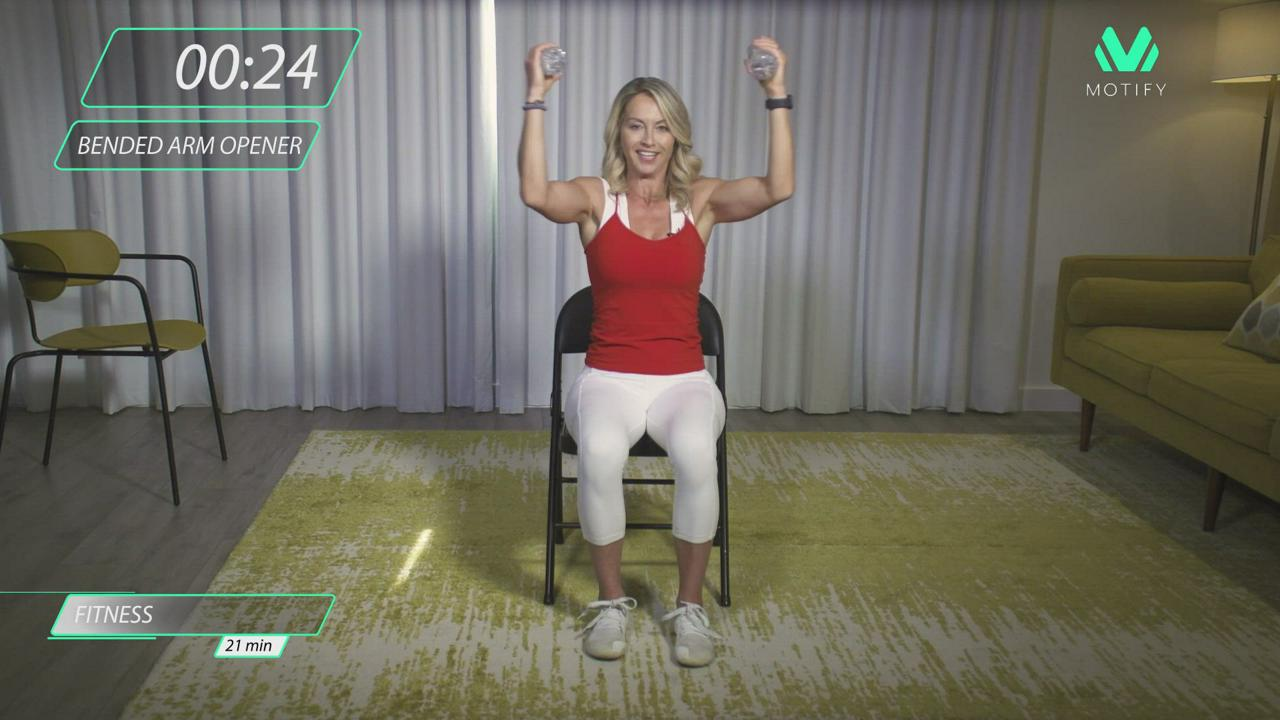 Chair Upper Body Workout