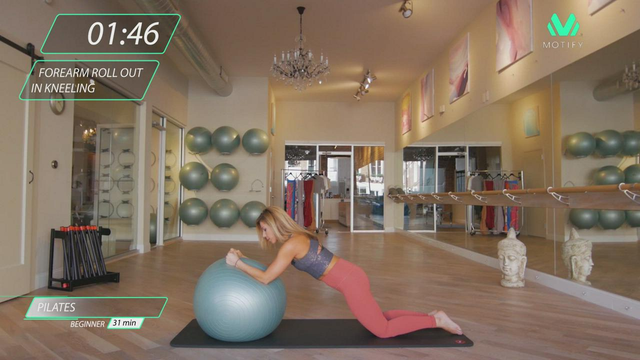 Pilates Fit Ball Combinations
