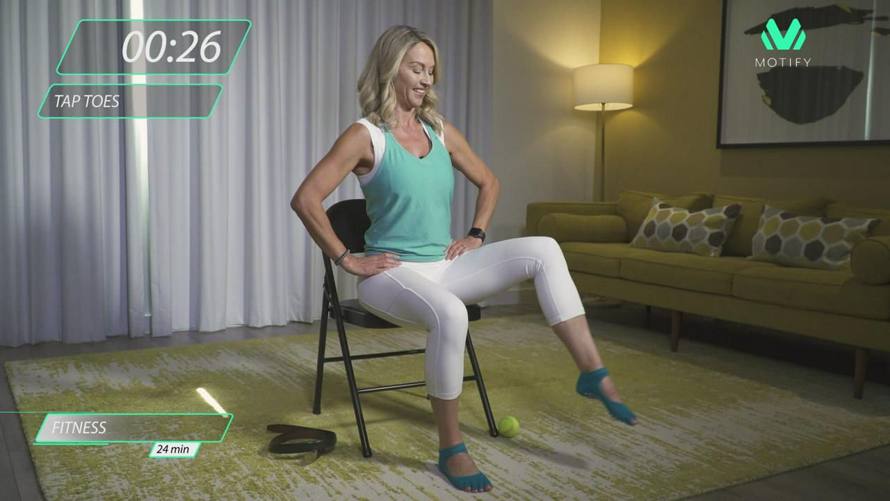 Chair Cardio Workout