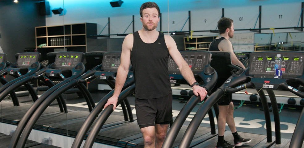20 mins Treadmill HIIT with Danny Skelly