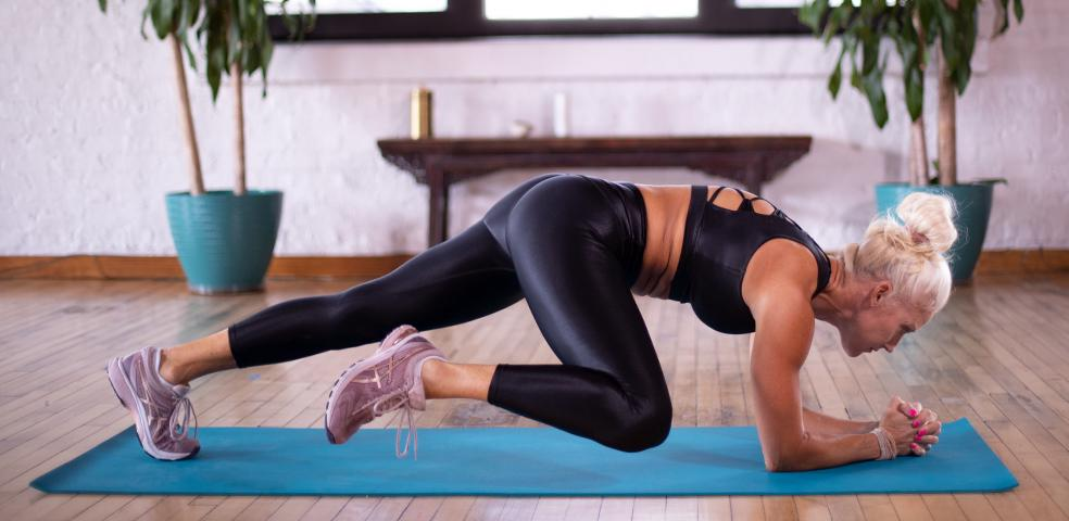 Fat Burning Home Cardio and Stretching Workouts with Beth Horn
